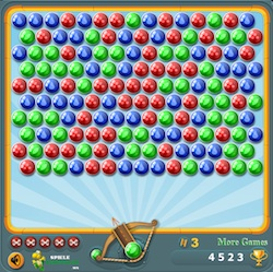 bubble shooter 3 online