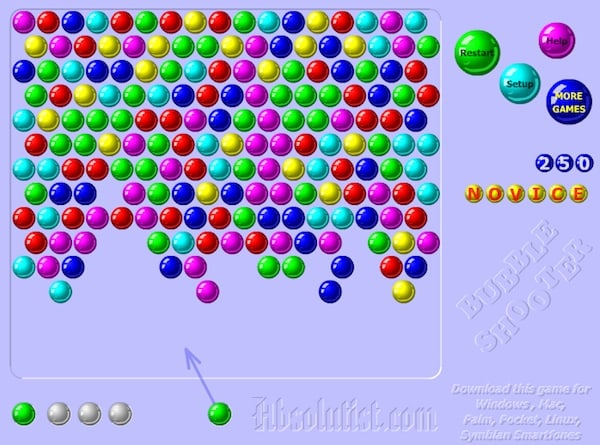 bubble burst game online